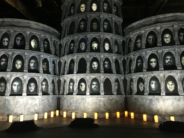 "Game of Thrones' ""Hall of Faces"" at SXSWesteros."